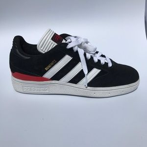 Adidas Busenitz Pro shoes sneakers black white red